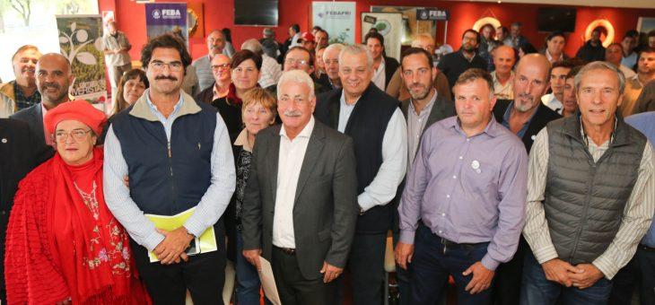Gran presencia de productores de la zona en encuentro provincial