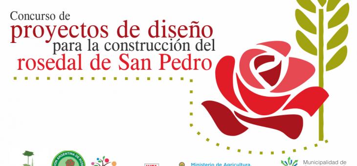Concurso de proyectos de diseño para la construcción del rosedal de San Pedro